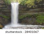 minnehaha falls 3   Shutterstock . vector #28401067