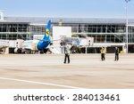 ukraine  borispol   may 22  ...   Shutterstock . vector #284013461