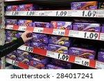 meppen  germany   february 27 ...   Shutterstock . vector #284017241
