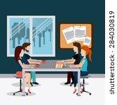Office Design Over Office Scen...