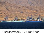 Aqaba  Jor   Apr 15 2015 Cargo...