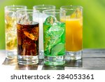 soft drink | Shutterstock . vector #284053361