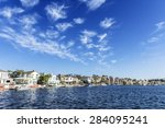 lake mission viejo orange... | Shutterstock . vector #284095241