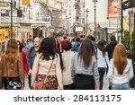 bucharest  romania   june 04 ...   Shutterstock . vector #284113175