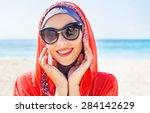 Beautiful Muslim Caucasian...