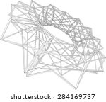 abstract geometry | Shutterstock .eps vector #284169737