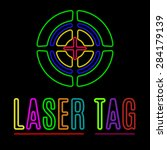 Vector Emblem Of Laser Tag In...