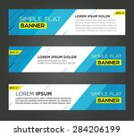 abstract banner line design ....