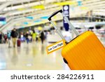 low cost flight. | Shutterstock . vector #284226911
