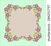 frame vector | Shutterstock .eps vector #284251757
