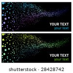 abstract background green and... | Shutterstock .eps vector #28428742
