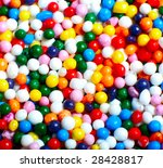 colorful candy background | Shutterstock . vector #28428817