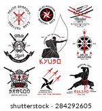 Set Of Martial Arts   Riental...