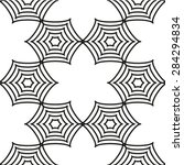 seamless pattern. vector... | Shutterstock .eps vector #284294834