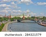 the moscow kremlin. kremlin... | Shutterstock . vector #284321579