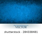 Abstract Black And Blue Vector...