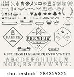 set of design elements for info ... | Shutterstock .eps vector #284359325