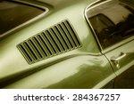 Classic American Muscle Car...