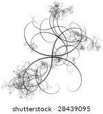black abstract pattern | Shutterstock . vector #28439095