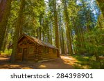 Cabin In The Woods  Yosemite...