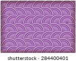 retro circles vector background | Shutterstock .eps vector #284400401
