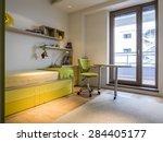 teenage boy room   Shutterstock . vector #284405177