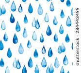 seamless pattern with drops of...   Shutterstock .eps vector #284443499