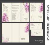 spa concept. vector template... | Shutterstock .eps vector #284445101