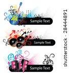 music elements | Shutterstock .eps vector #28444891