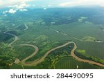 Meandering River Viewed From...