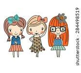 Fashion Graphic Girl   Cute...