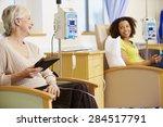 female patients undergoing... | Shutterstock . vector #284517791
