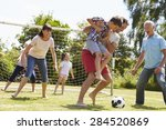 multi generation playing...   Shutterstock . vector #284520869