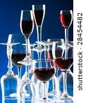 wine glasses | Shutterstock . vector #28454482