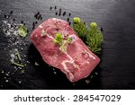 Slab Of Uncooked Wild Boar...