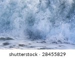 Blue Surge Of Mediterranean Se...