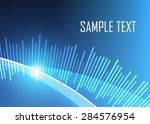blue abstract background | Shutterstock .eps vector #284576954