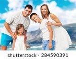 beach  summer  group.   Shutterstock . vector #284590391