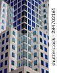 closeup of skyscrapers... | Shutterstock . vector #284702165