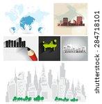 city skyline   Shutterstock . vector #284718101