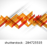 technology abstract background... | Shutterstock .eps vector #284725535