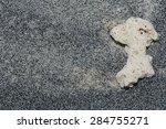 black sand texture | Shutterstock . vector #284755271