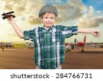 active  air  airplane. | Shutterstock . vector #284766731