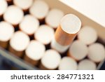 pack of cigarettes | Shutterstock . vector #284771321