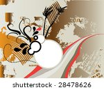 floral background for text   Shutterstock .eps vector #28478626