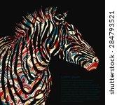 Animal Watercolor Illustration...