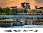 Bridges Over The Spokane River...