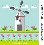 Netherlands Landscape ...