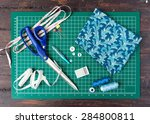 Patchwork Sewing Tools On Gree...