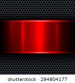 abstract background with red...   Shutterstock .eps vector #284804177